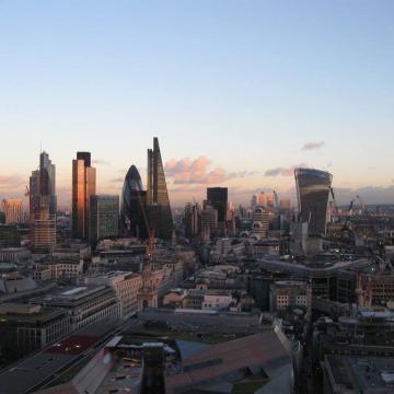 city of london from st pauls - Cadzow